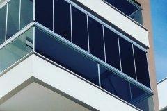 korkuluk üzeri cam balkon