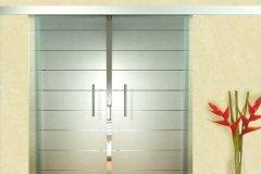 desenli cam kapı